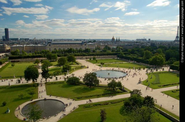 Cele mai frumoase gradini jardin des tuileries bijuteria for Jardin jardin tuileries